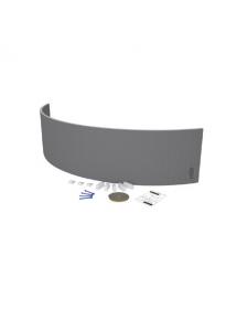Décofast kit pose tablier baignoire courbe