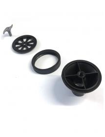 KIT GRILLE INOX ET BONDE POUR ISOTANCHE CLASSIC DIAM 50 mm
